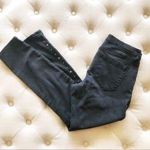 Blank NYC Studded Black Skinny Jeans/Size 28